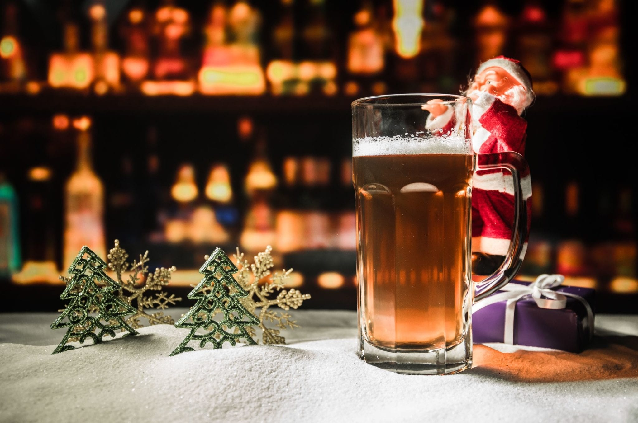 Holiday Pop-Up Bar