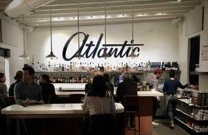 people sitting in The Atlantic