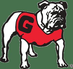 The UGA bulldog mascot