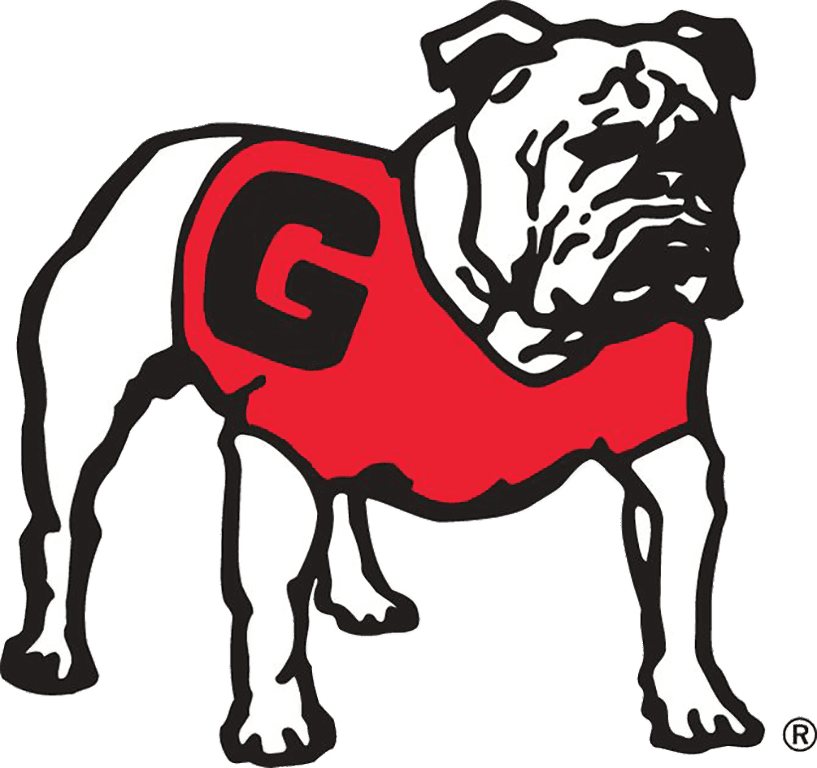 The UGA bulldog mascot