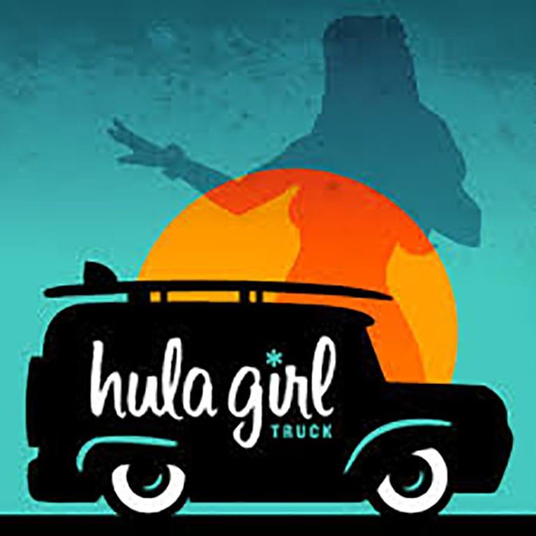 Hula Girl Truck logo